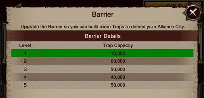alliance-city-traps-capacity