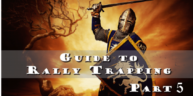 Rally trapping 105 defensive cores part 5 inside game of war